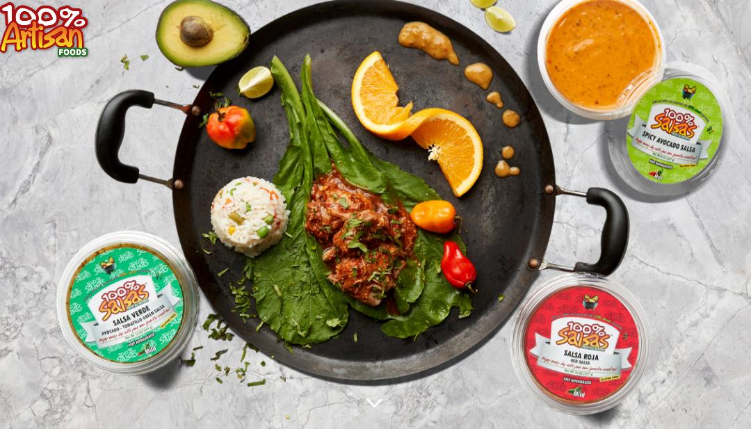 Rever Creative Builds Website for 100% Artisan Foods